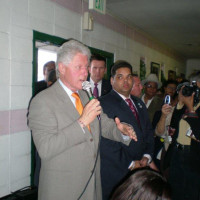 Former President Bill Clinton and Attorney Juan LaFonta