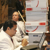 Attorney Juan LaFonta at Louisiana House of Representatives in Session